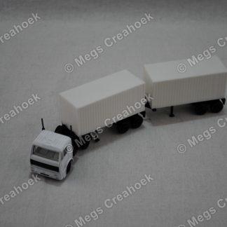Vrachtwagen dubbel