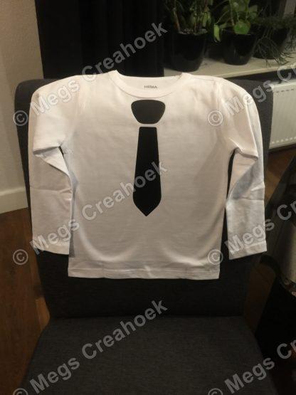 T-shirt stropdas