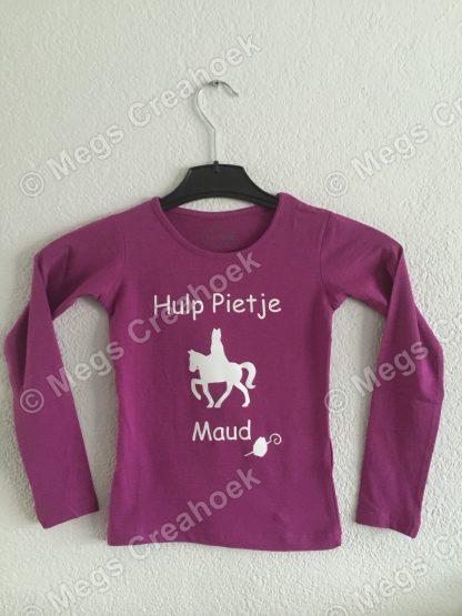 T-shirt; Hulp Pietje