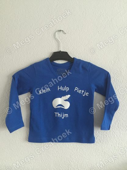 T-shirt; Klein Hulp Pietje