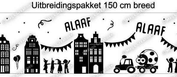 Sticker carnaval 150 cm