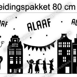 Sticker carnaval 80 cm