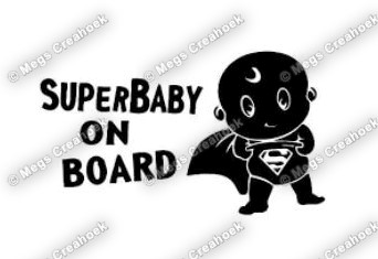 Superbaby on board