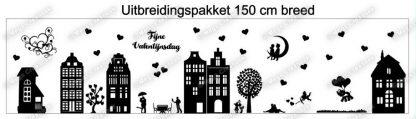 Uitbreidingspakket 150cm valentijnsdag