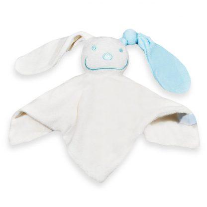 Tutpoppetje gekleurd oor baby blauw
