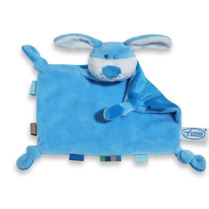 Tutpoppetje hond blauw