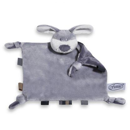 Tutpoppetje hond grijs