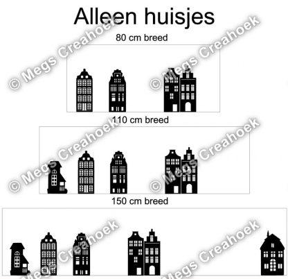 Alleen huisjes (basis)