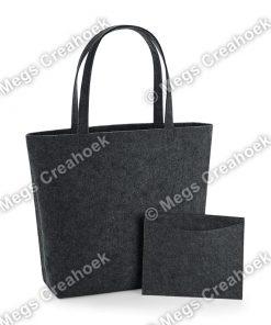 Vilt shopper - charcoal