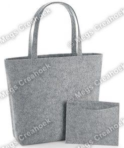 Vilt shopper - grey