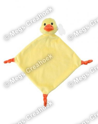 Knuffeldoekje gele eend