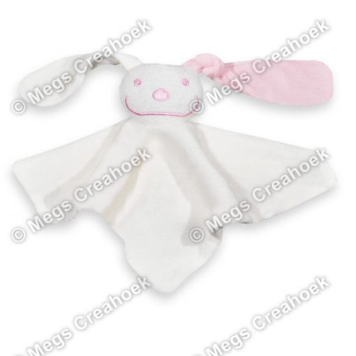 Tutpoppetje licht roze gekleurd oor