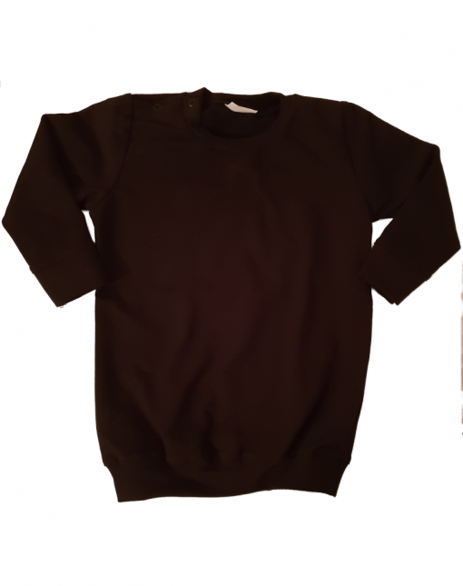 Sweaterjurkje Zwart